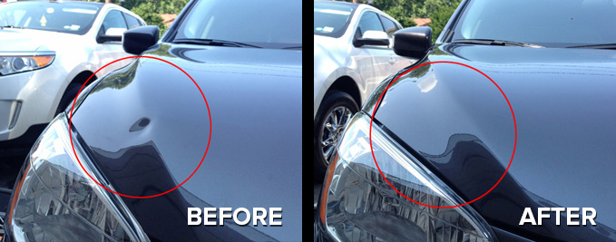 Hail Dent Repair in New Jersey, Hudson County, Bergen County