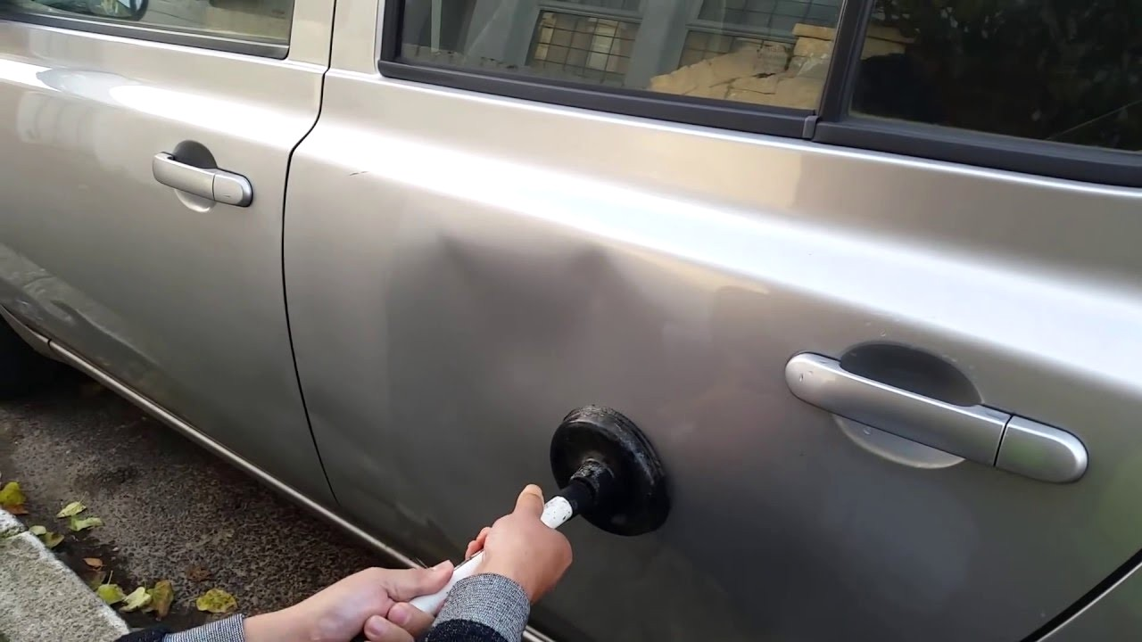 Popping Out a Dent By Yourself, Good or Bad?