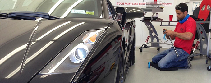 Luxury Car Dent Removal – Why Paintless Dent Repair by AceofDents is the #1 Choice