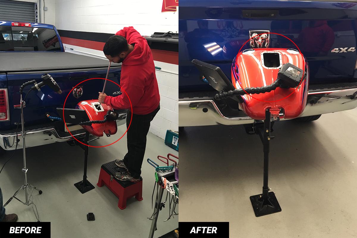 motorcycle gas tank repair NJ