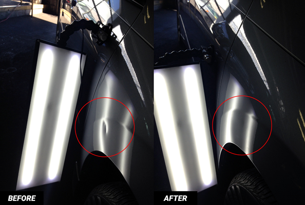 Classis Car Restoration with Paintless Dent Repair