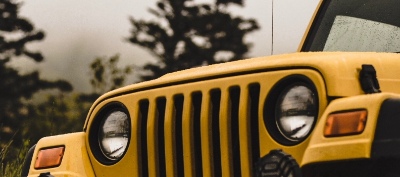 Jeep Paintless Dent Removal in New Jersey NJ