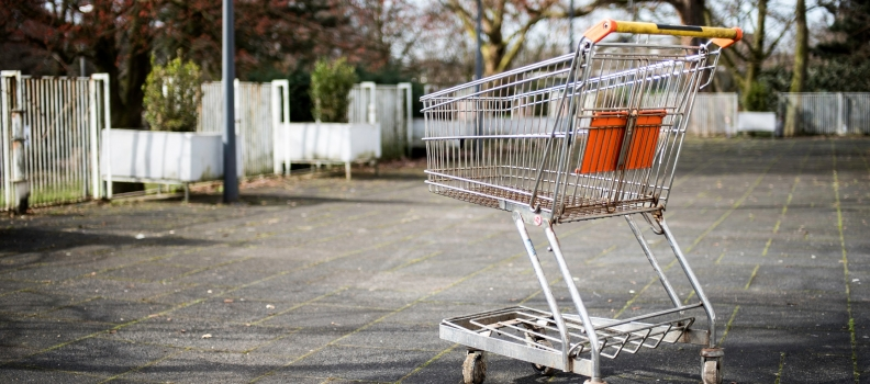 Repairing the Dent on your Car from a Shopping Cart?